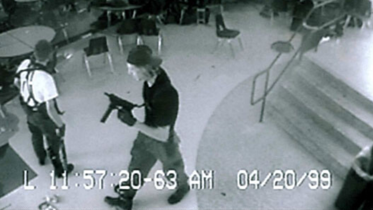 Vídeos REAIS do MASSACRE de Columbine